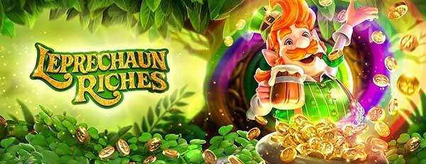 ทดลองเล่นเกม Leprechaun Riches JOKER8899