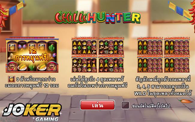รีวิวเกม Chilli Hunter